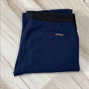 Anne Klein Navy Blue Black Dress Pants